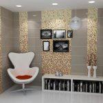 Mosaic decor for modern interiors
