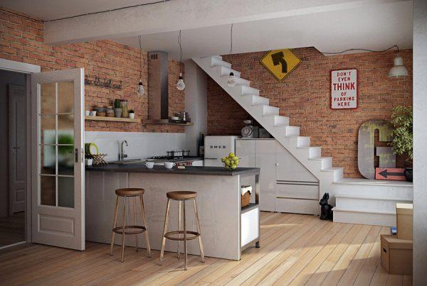 shelving-for-kitchen-wall