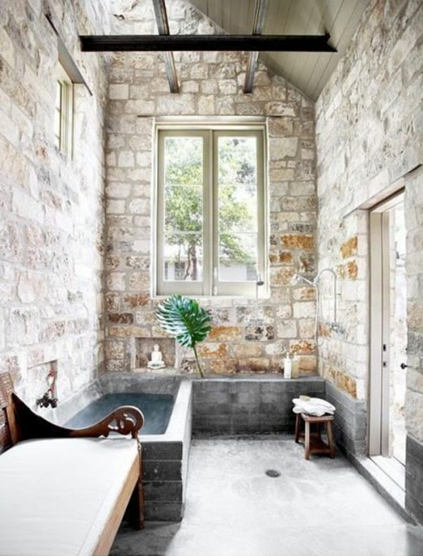 10 Stone bathroom designs that will inspire you - Little Piece Of Me