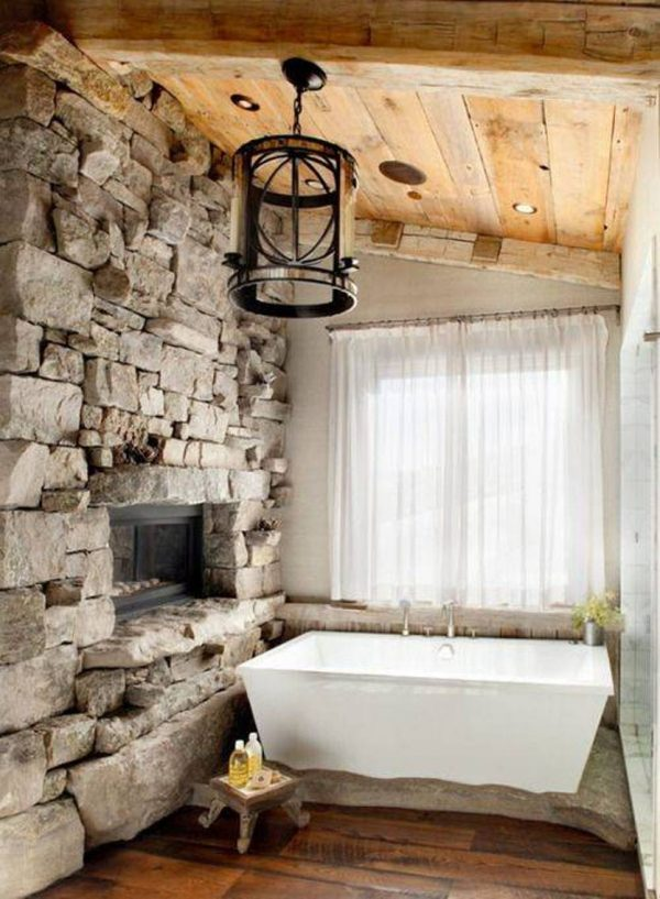 10 Stone Bathroom Designs That Will Inspire You Little