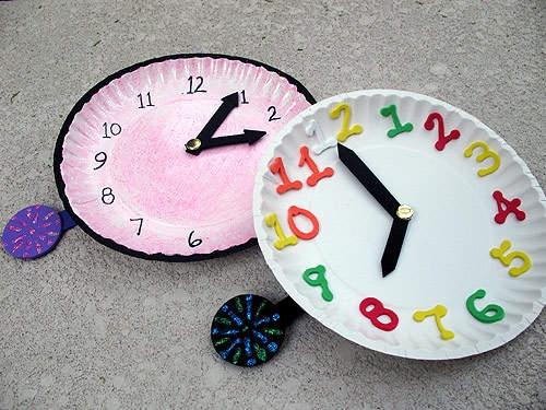 how to make a homemade clock