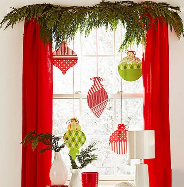 Window Decorating Ideas For Christmas Little Piece Of Me