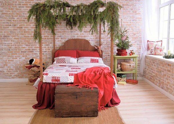 christmas-bedroom-decor