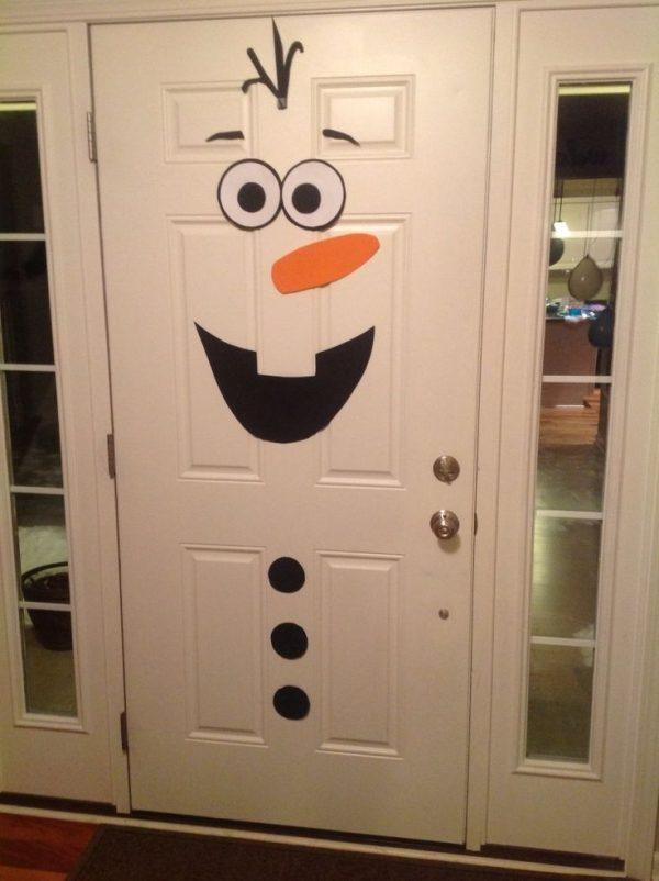Cool christmas door decorations littlepieceofme for Cool door ideas