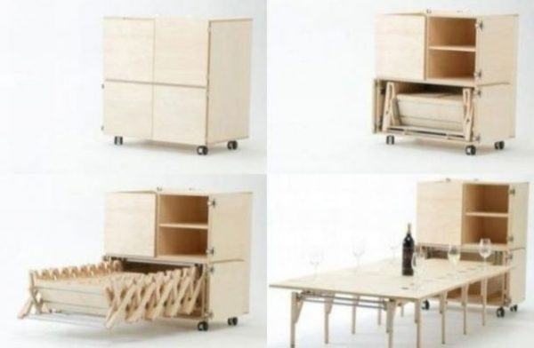 Multifunctional furniture for small spaces - Little Piece ...