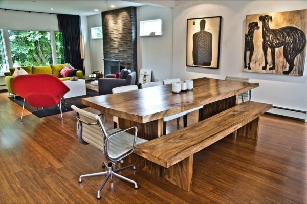 Modern Wood Dining Room Tables LittlePieceOfMe