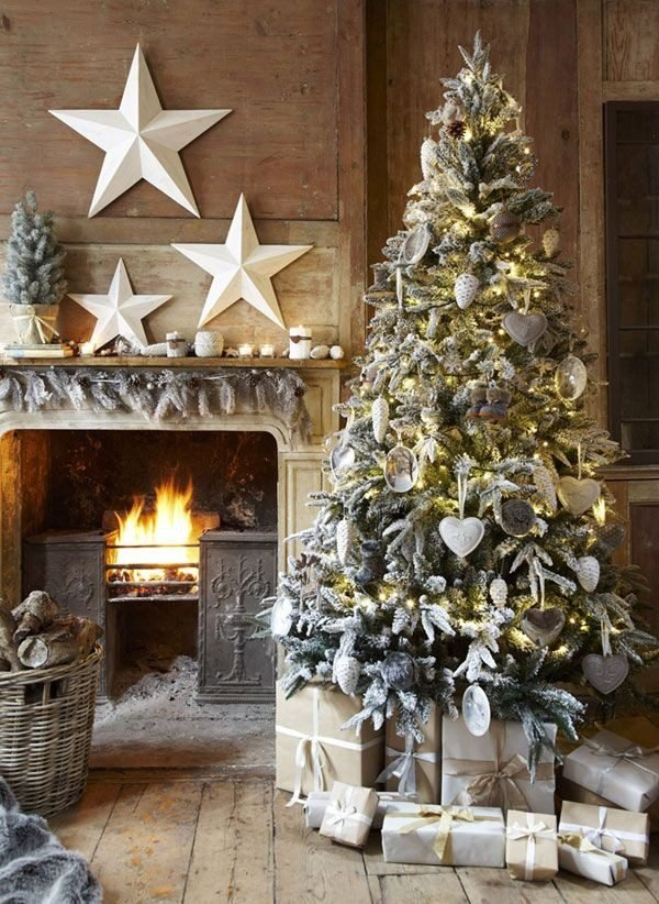 vintage-christmas-tree-decorating-ideas