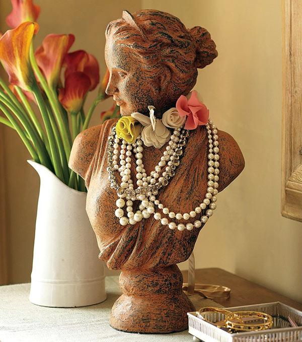Not Just Another Home Decor Site: Decorative Bust Sculptures