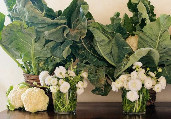 Easy vegetable arrangements