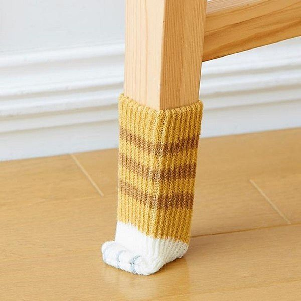 Brighten Up Your Room Decor With Socks For Furniture Legs
