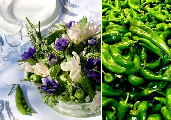 vegetable flower arrangements