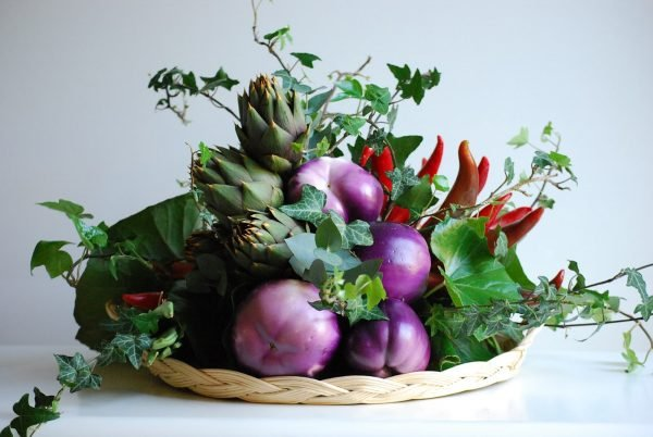 decorative vegetables