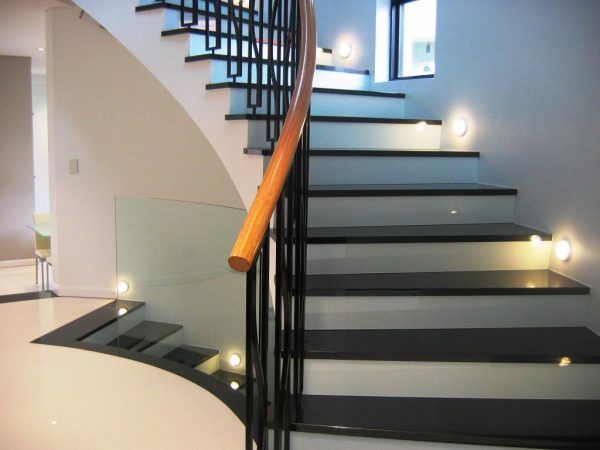 Lighting Basement Washroom Stairs: 14 Modern Stair Lighting Ideas