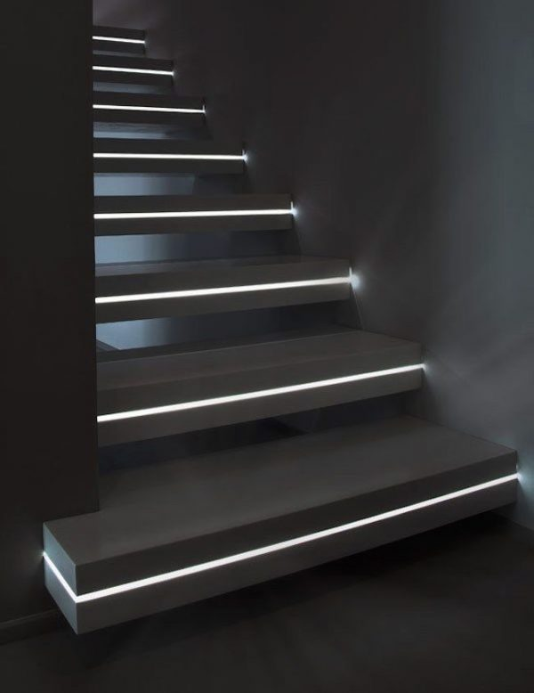 stairs lighting design
