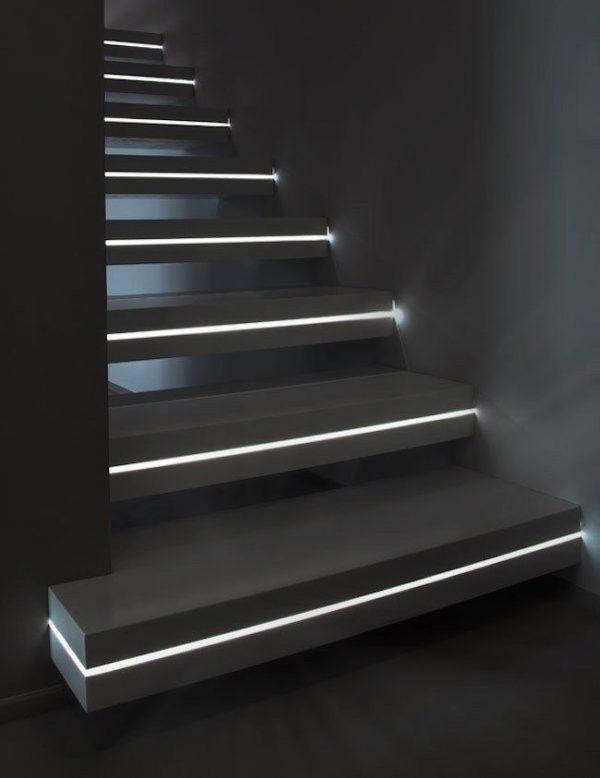 stairs lighting design