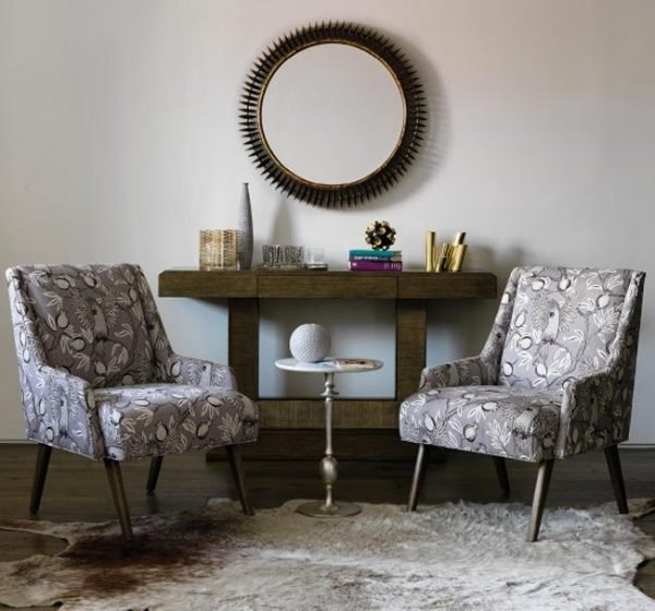 retro living room chairs