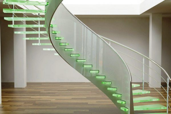 modern staircase lighting & 14 Modern stair lighting ideas - Little Piece Of Me azcodes.com