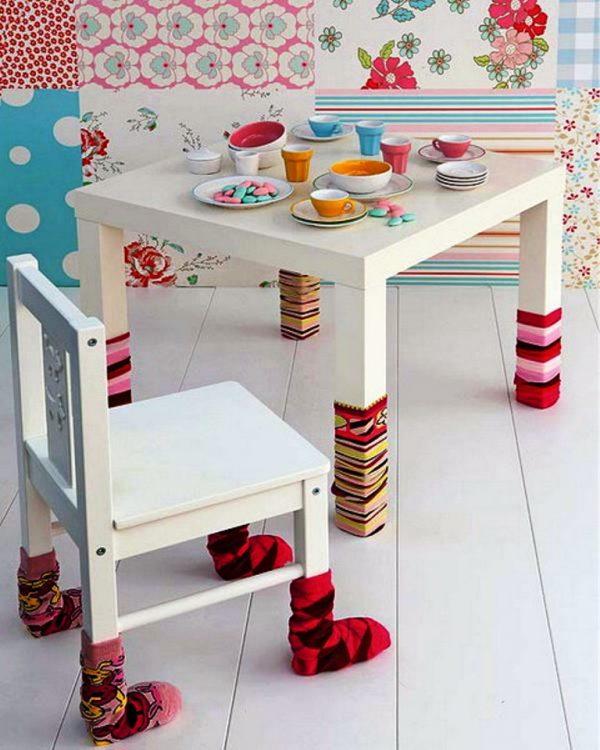 Socks for furniture legs