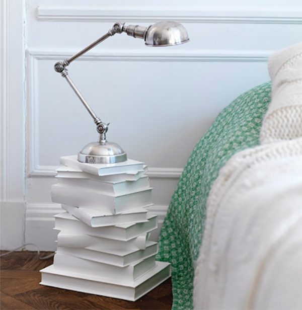 white books for decoration