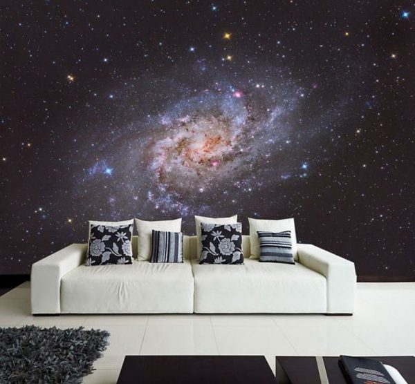 galaxy living room