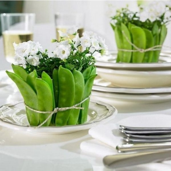 vegetable flower arrangements1