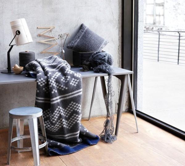 gray blanket