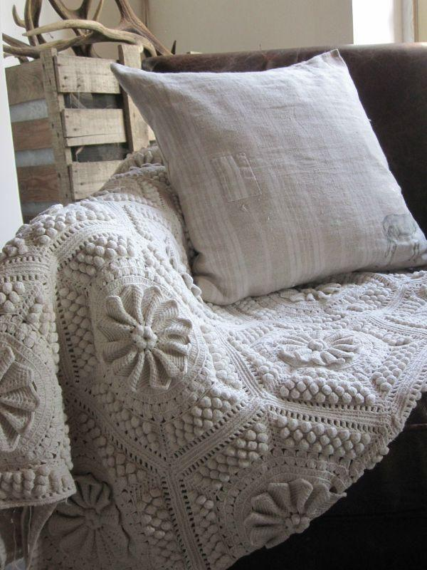 cotton knit throw blanket