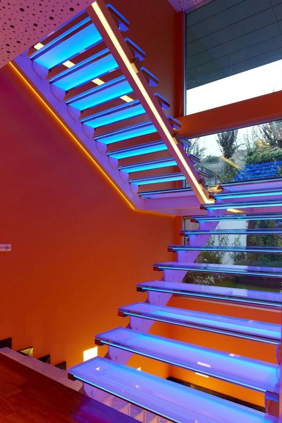 interior stair lighting ideas