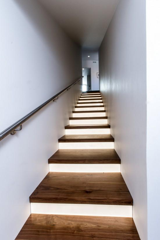 indoor stair lighting
