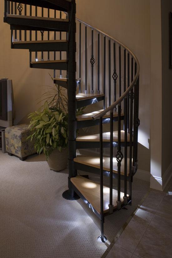 stair step lighting