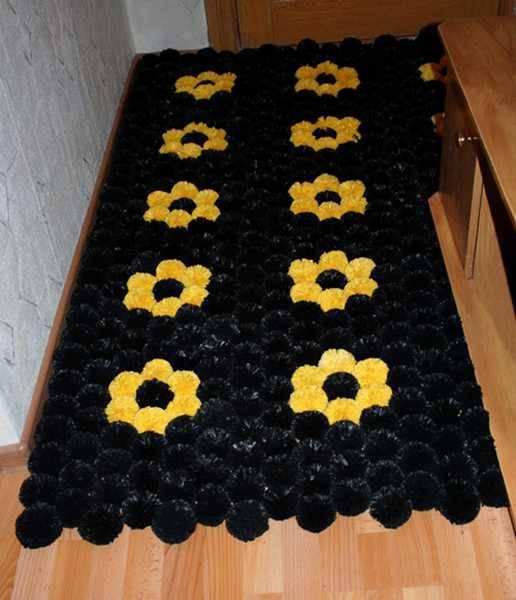 pompom carpet