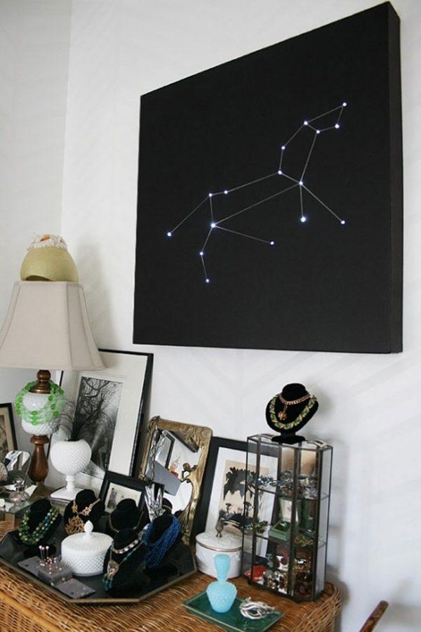 galaxy wall decor