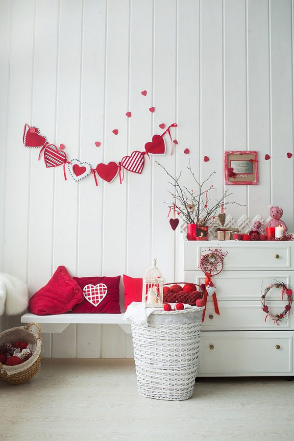 Valentine's day room decorating ideas