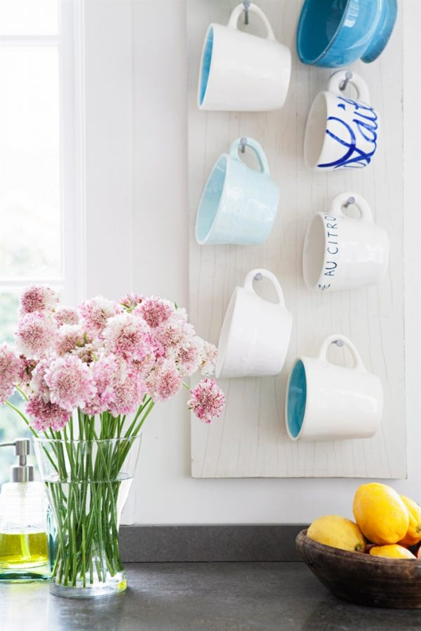 cup rack display