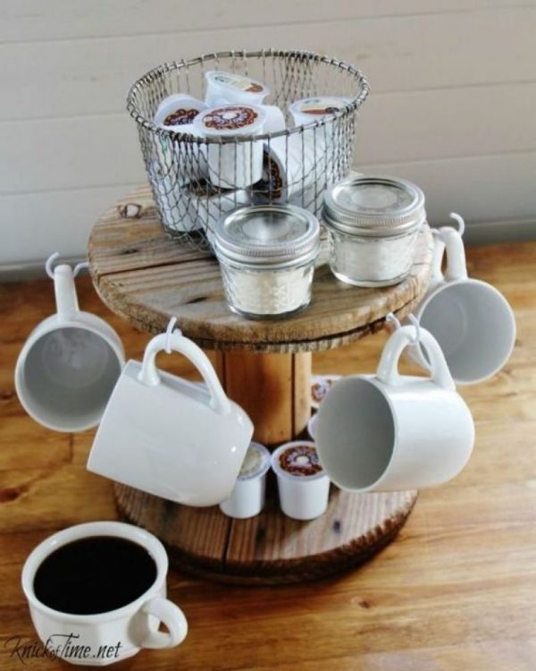 cup display rack