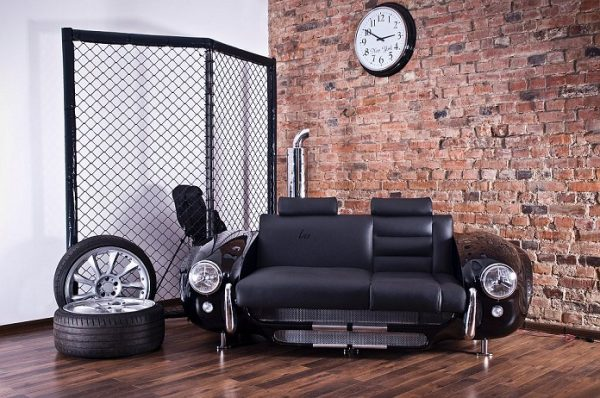 furniture from car parts