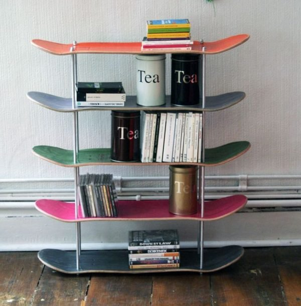 skateboard display stand