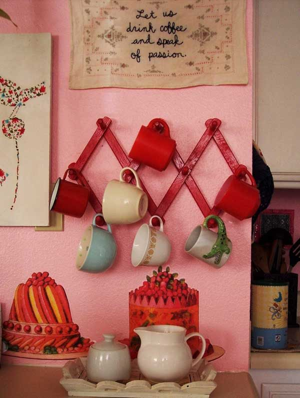 wall cup holder