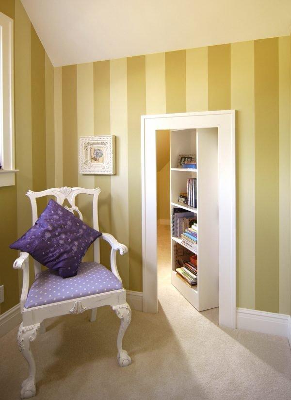 bookshelf secret room