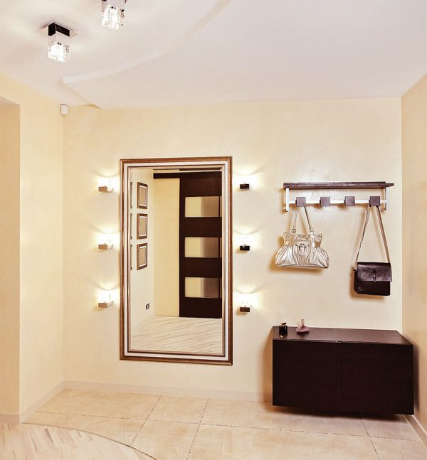 modern hall lights