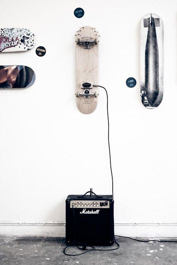 Amazing skateboard home decor for all skateboarding lovers ...