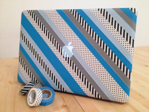 washi tape laptop