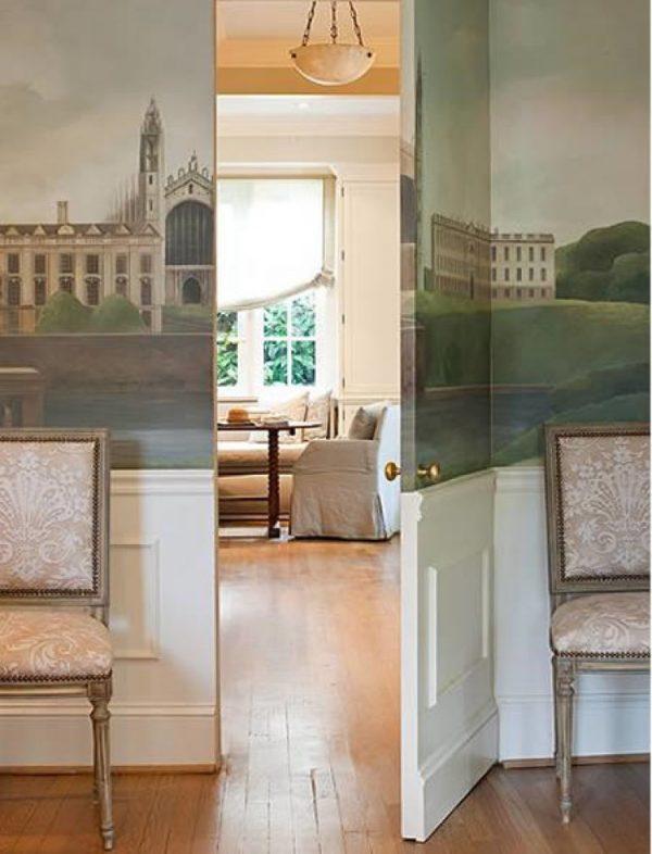 secret door in wall