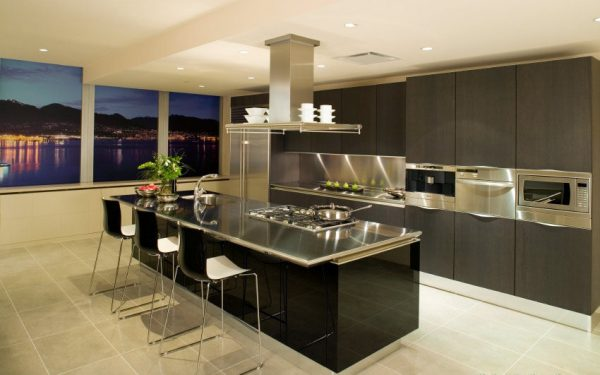 stainless steel kitchen countertops