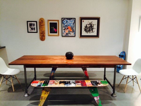 skateboard furniture ideas