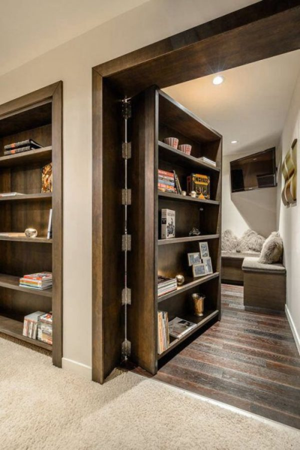 secret doors and rooms