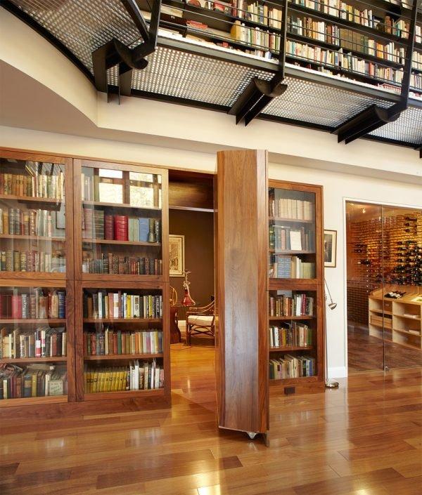 secret door library