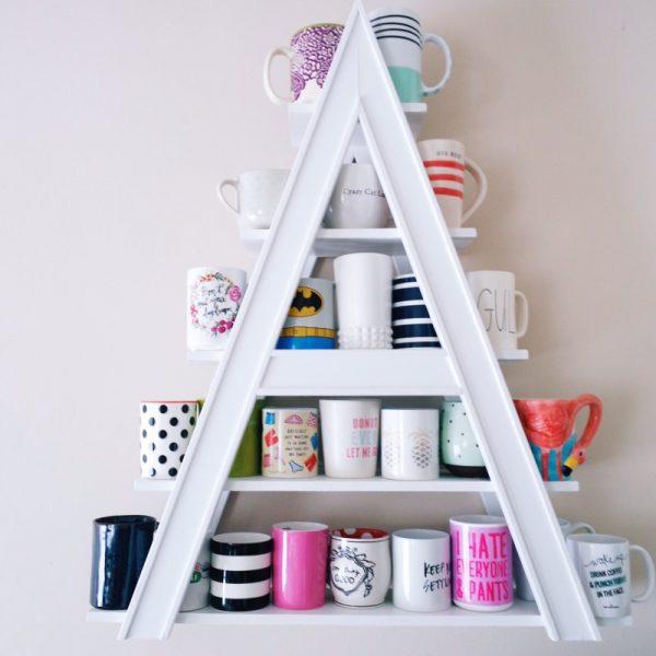 cup holder rack