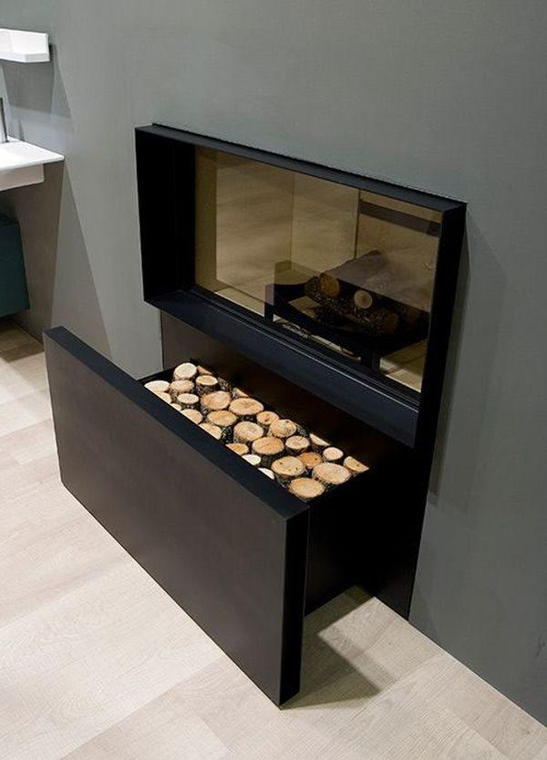 inside firewood storage ideas