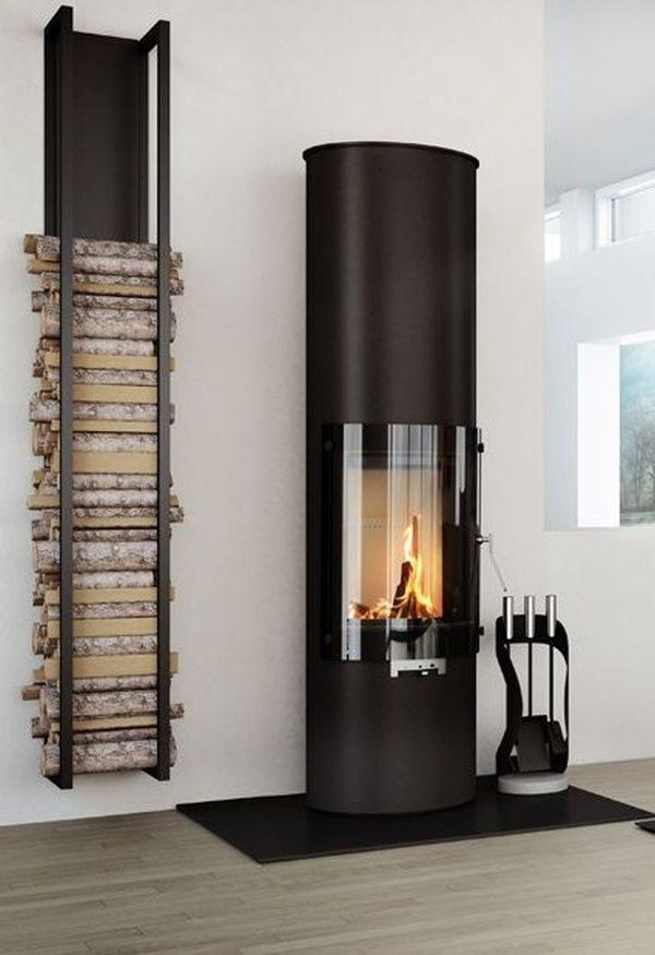 fireplace firewood holder